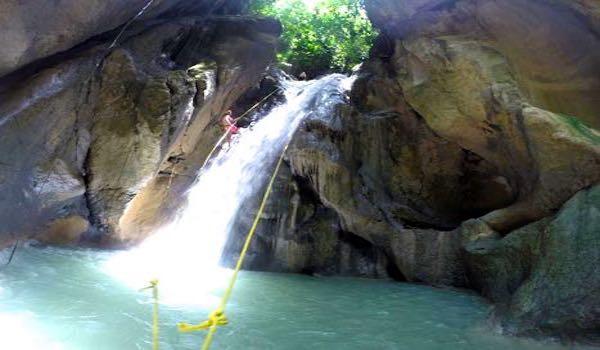 Montaneza Falls Cebu